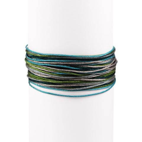 Pack 3 Pulseras Green Forest Plata