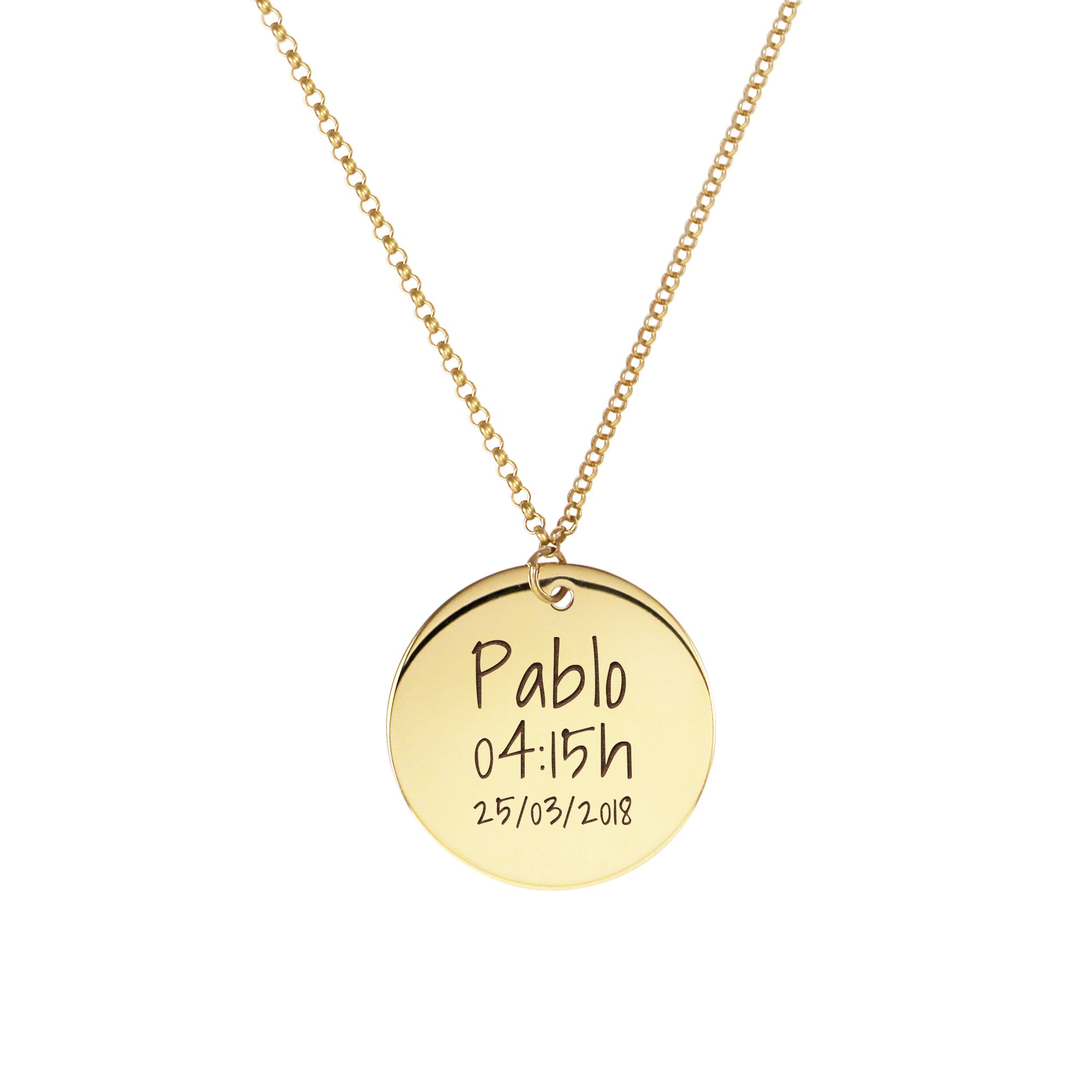 Collar Personalizado  Dream Oro - singularu