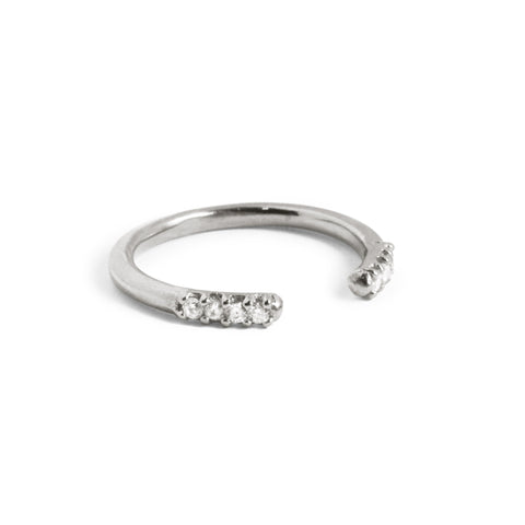 Anillo Triangles Plata