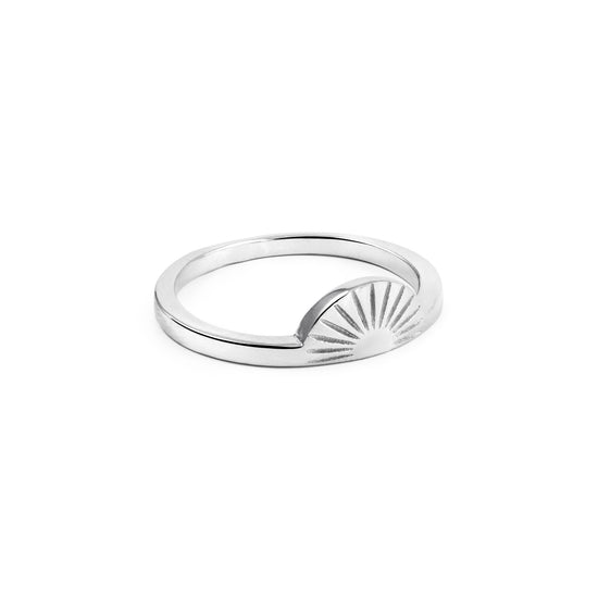 Anillo Sunset Plata - singularu
