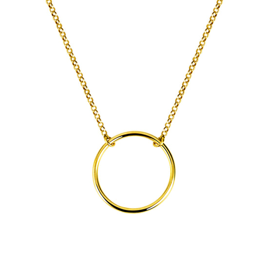 Collar Circle Ring Oro - singularu