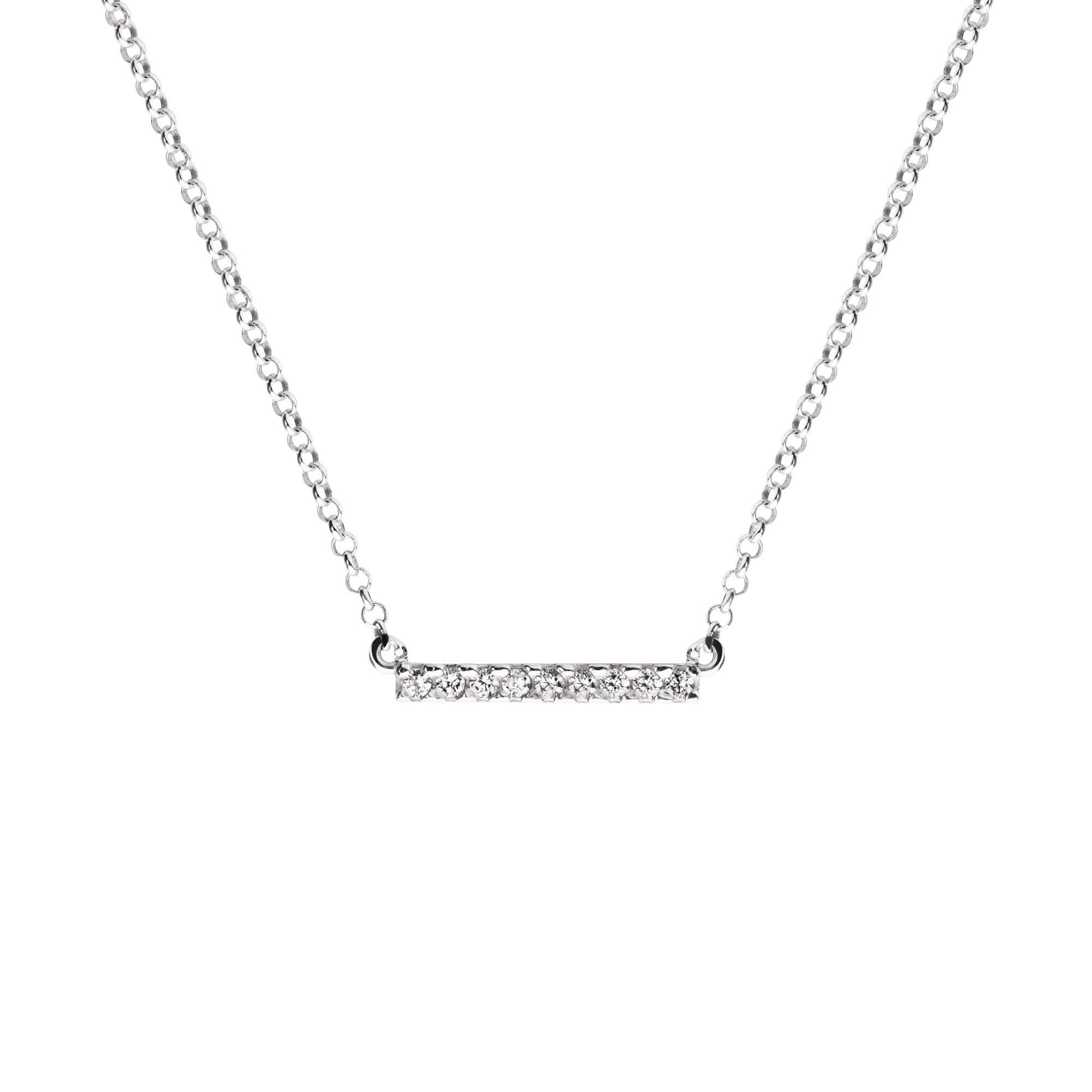 Collar Meghan Diamonds Plata - singularu