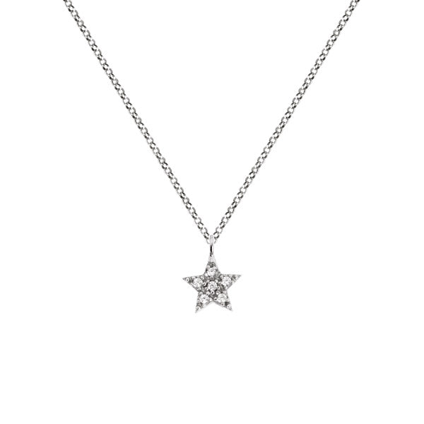 Collar Star Diamonds Plata - singularu