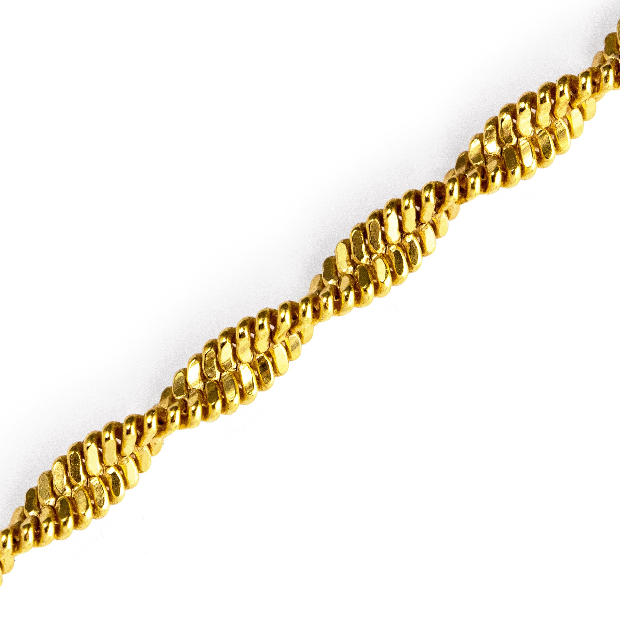 Collar Twist Oro - singularu