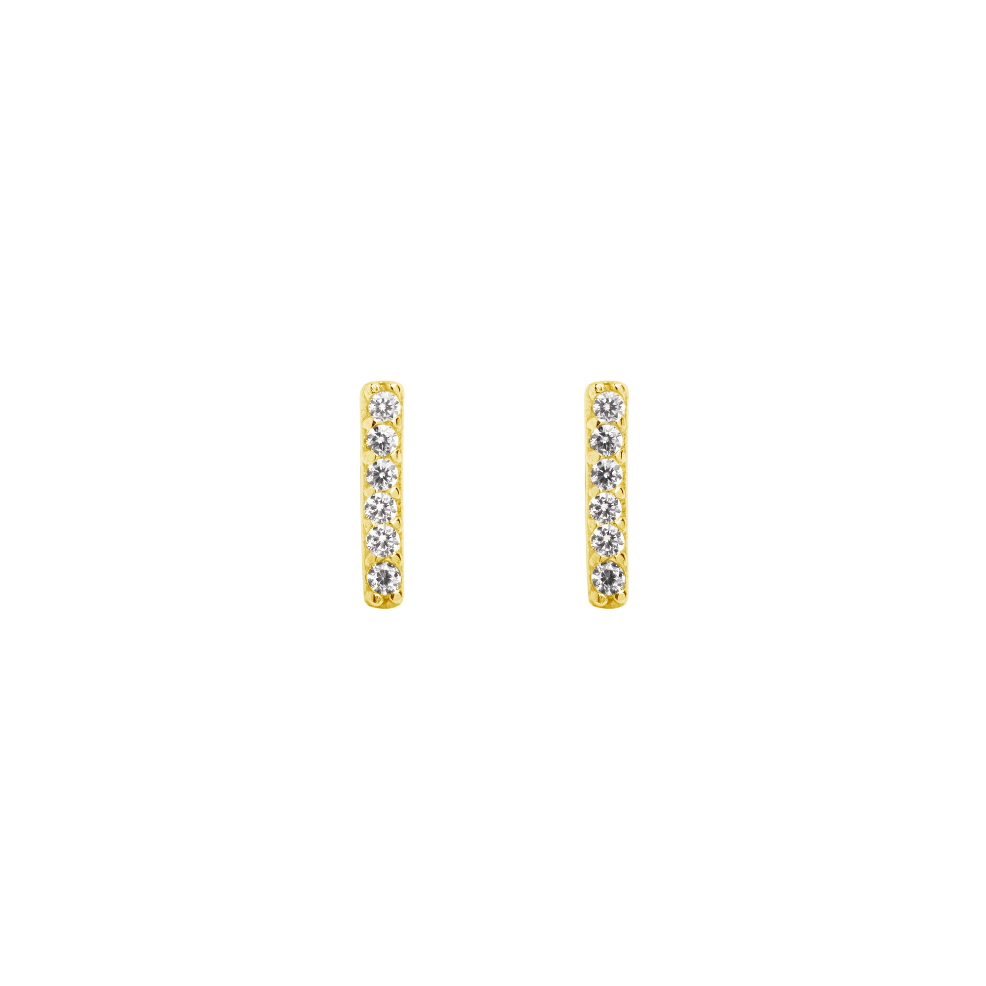 Pendientes Diamonds Stick Oro - singularu