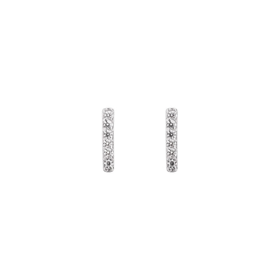 Pendientes Diamonds Stick Plata