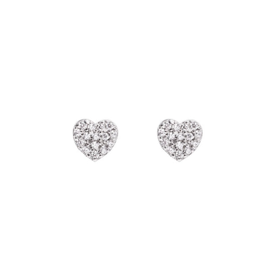 Pendientes Love Diamonds Plata - singularu