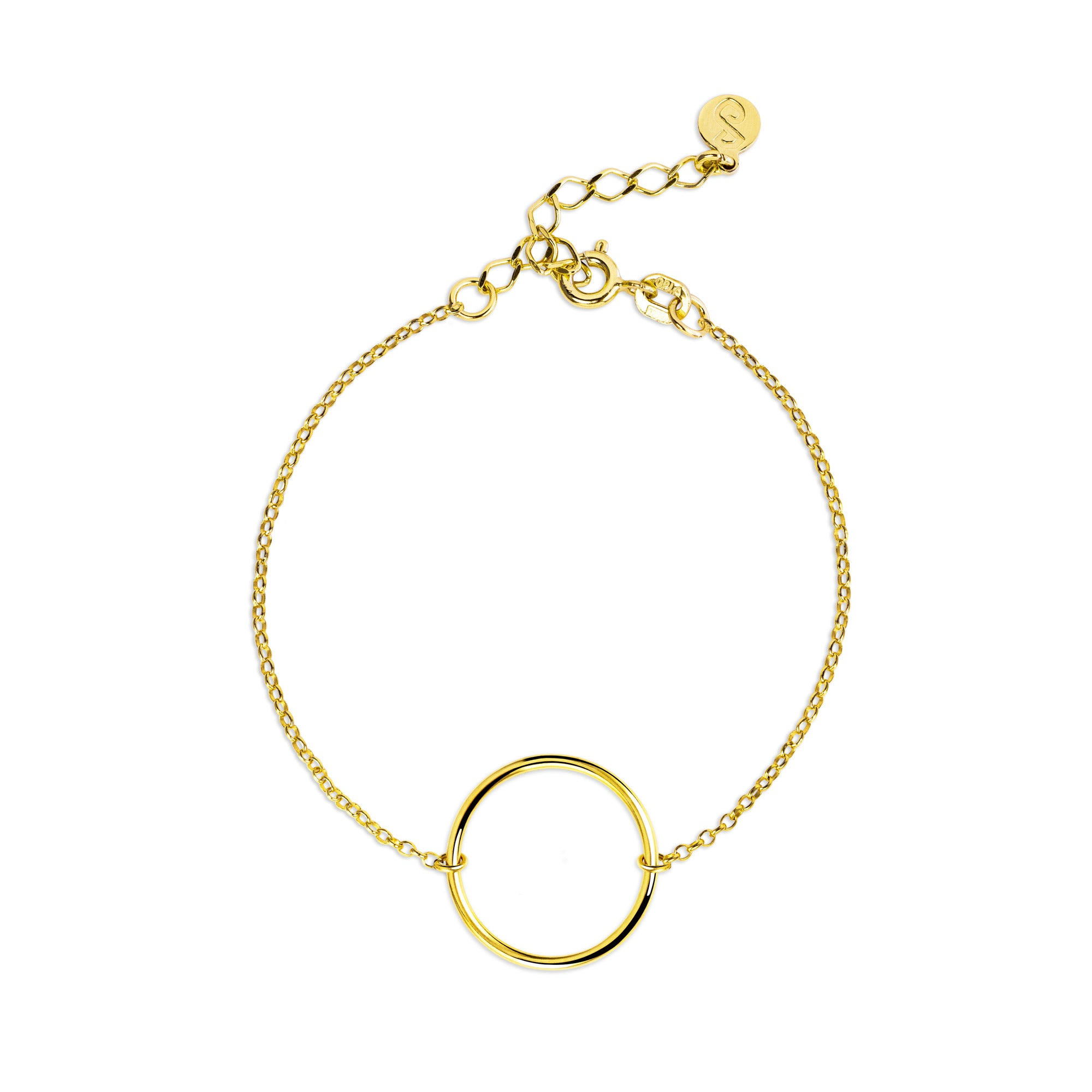 Pulsera Circle Ring Oro - singularu