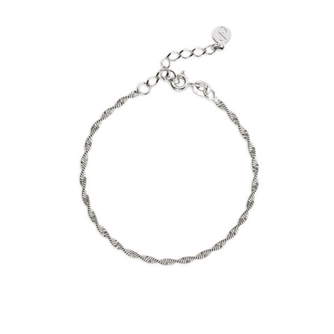Pulsera Meghan Diamonds Plata