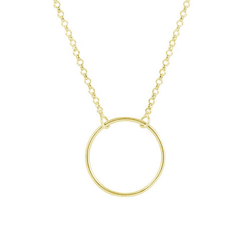 Collar Circle Gold - singularu