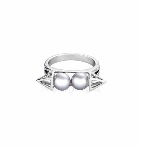 KLARE Ring in White Gold