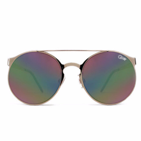 "QUAY AUSTRALIA ""Neverland"" Gold Sunglasses"