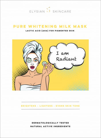Pure Whitening milk Mask