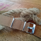 Buy TAN Genuine Leather NATO watch band