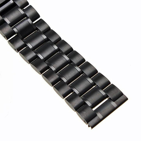 BLACK SOLID STEEL BRACELET
