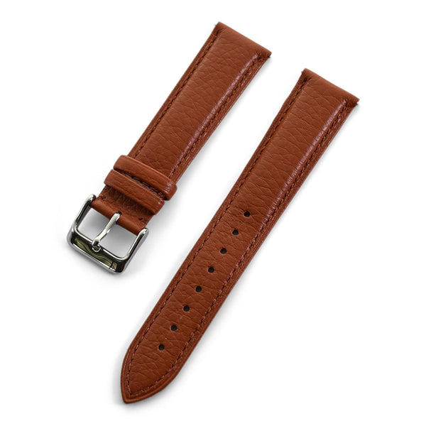 THE PEBBLE QUICK RELEASE LIGHT BROWN - The Sydney Strap Co.