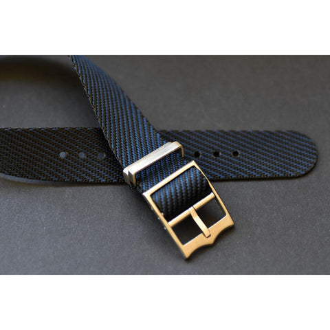 SINGLE PASS-NAVY - The Sydney Strap Co.