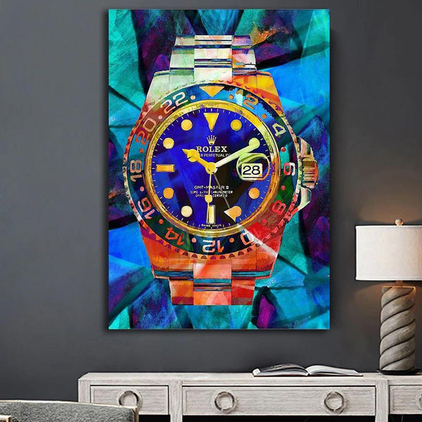 GMT (TYPE B) Wall Art on Canvas