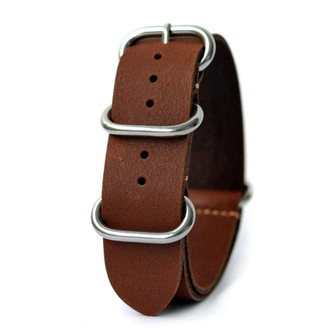 LUX LEATHER LIGHT BROWN ZULU