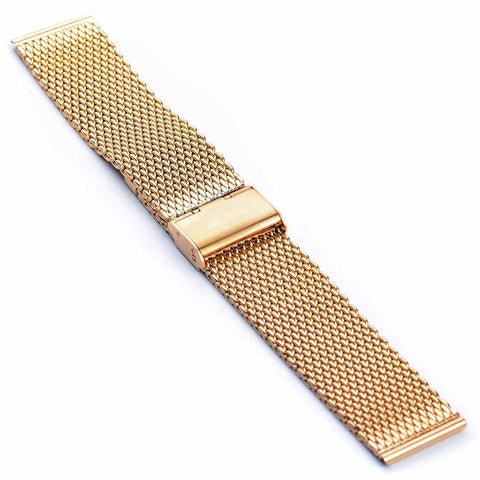 GOLD MILANESE MESH BRACELET - The Sydney Strap Co.