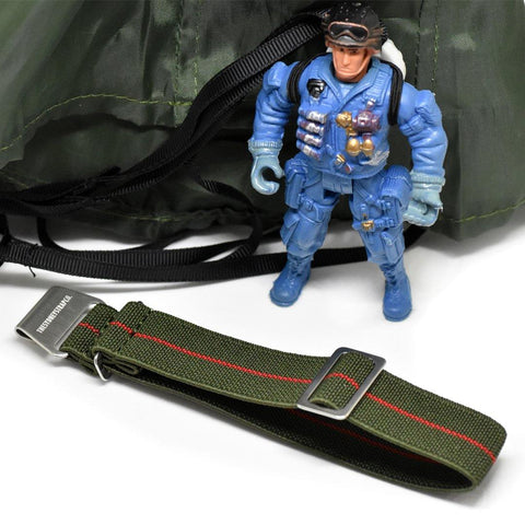 SPECIAL OPS - OLIVE & RED - The Sydney Strap Co.