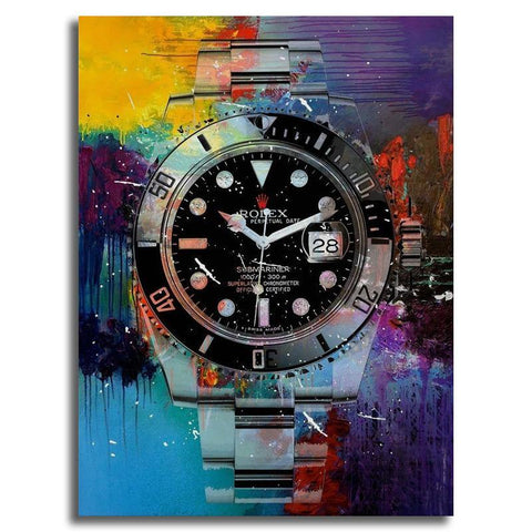 Submariner Wall Art on Canvas