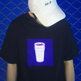 DOUBLE CUP TEE SHIRT BLACK - MJN ORIGINALS