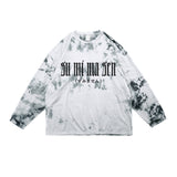 SUMIMASEN REFLECTIVE LONG SLEEVE T-SHIRT - MJN ORIGINALS