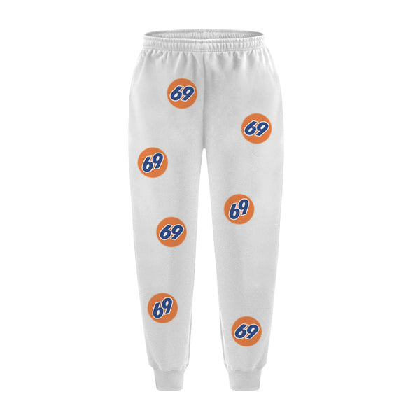 69 GAS STATION SWEATPANTS WHITE - MJN ORIGINALS