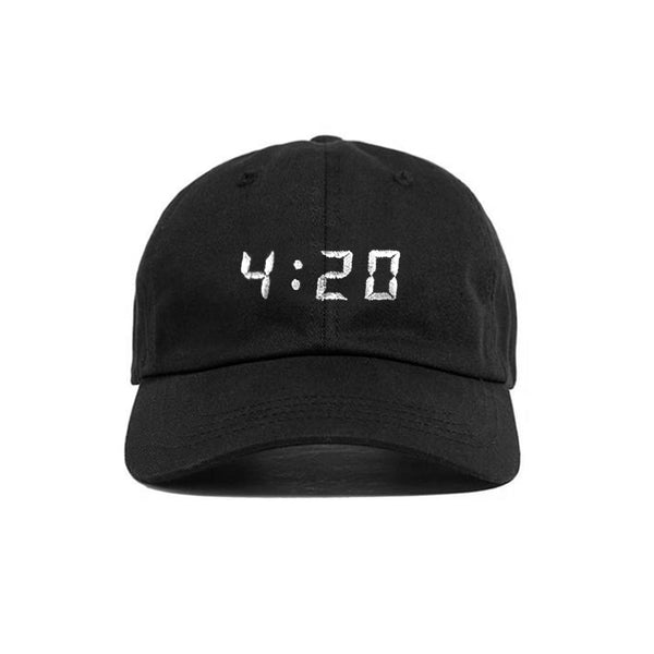 SNAPCHAT 4:20 HAT BLACK - MJN ORIGINALS