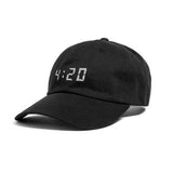SNAPCHAT 4:20PM HAT BLACK - MJN ORIGINALS