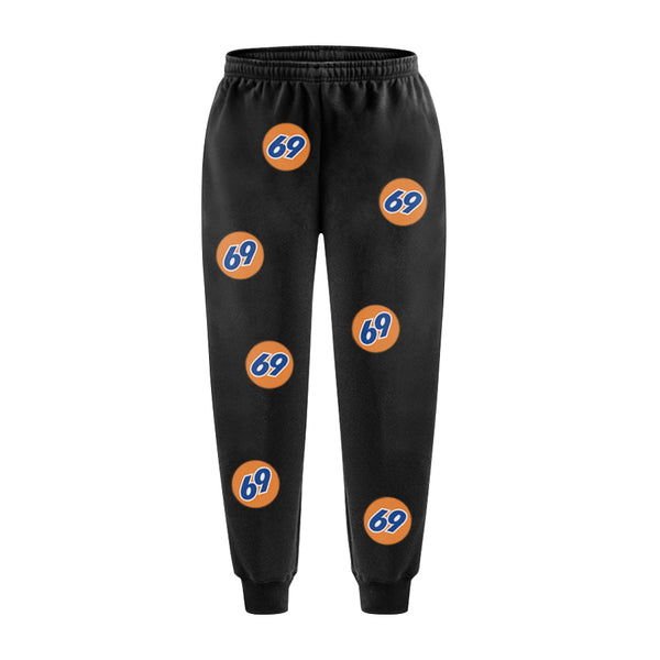 69 GAS STATION SWEATPANTS BLACK - MJN ORIGINALS
