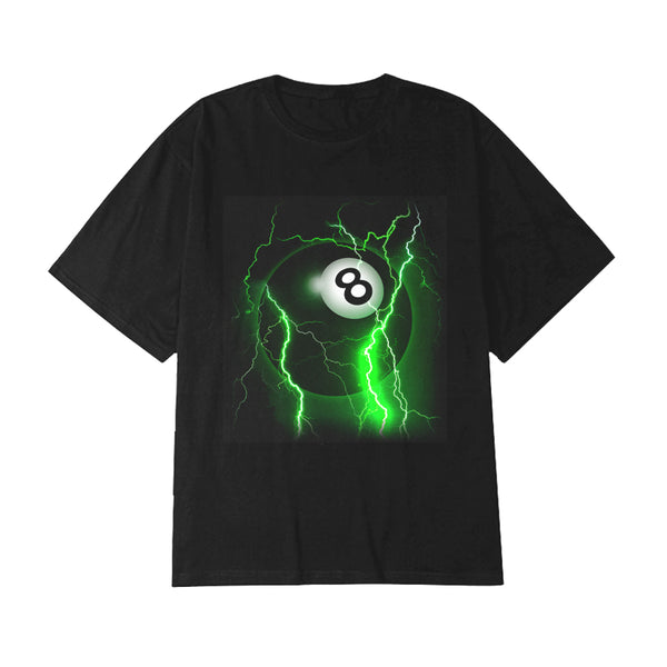 8BALL OVERSIZED TEE - MJN ORIGINALS