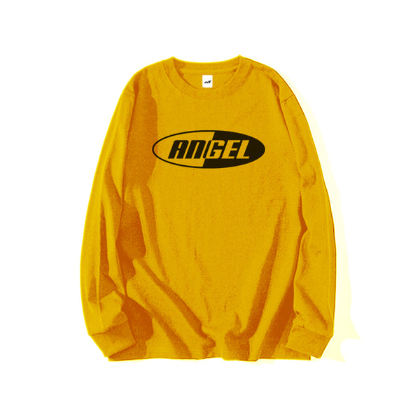 ANGEL REFLECTIVE LONG SLEEVE T-SHIRT YELLOW - MJN ORIGINALS