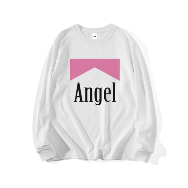 ANGEL REFLECTIVE LONG SLEEVE T-SHIRT - MJN ORIGINALS