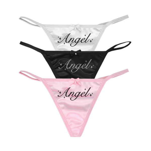 ANGEL REFLECTIVE THONG SET - MJN ORIGINALS