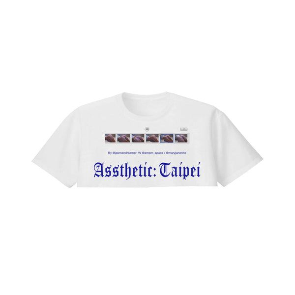 ASSTHETIC TAIPEI CROPPED TEE - MJN ORIGINALS