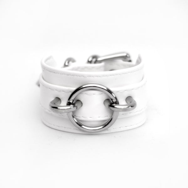 CIRCULAR LEATHER BRACELET (CLICK FOR 2 COLORS)