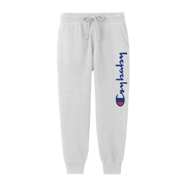 CRYBABY SWEATPANTS WHITE - MJN ORIGINALS