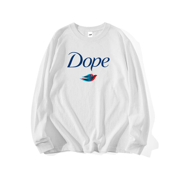 DOPE LONG SLEEVE T-SHIRT - MJN ORIGINALS
