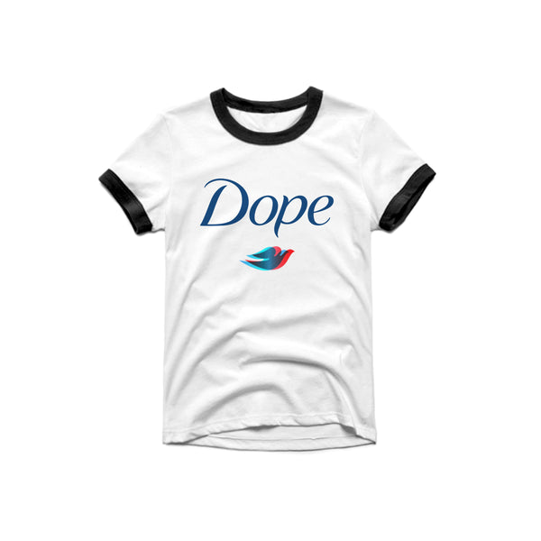 DOPE RINGER T SHIRT - MJN ORIGINALS