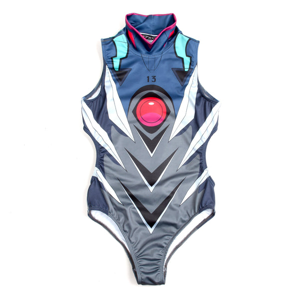 IKARI SHINJI - NO.13 SWIM SUIT BLUE GREY