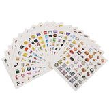 19-PACK EMOJI STICKERS