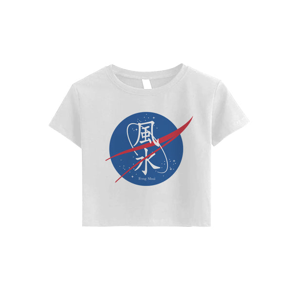 FENG SHUI CROP TEE (CLICK FOR 2 COLORS) - MJN ORIGINALS