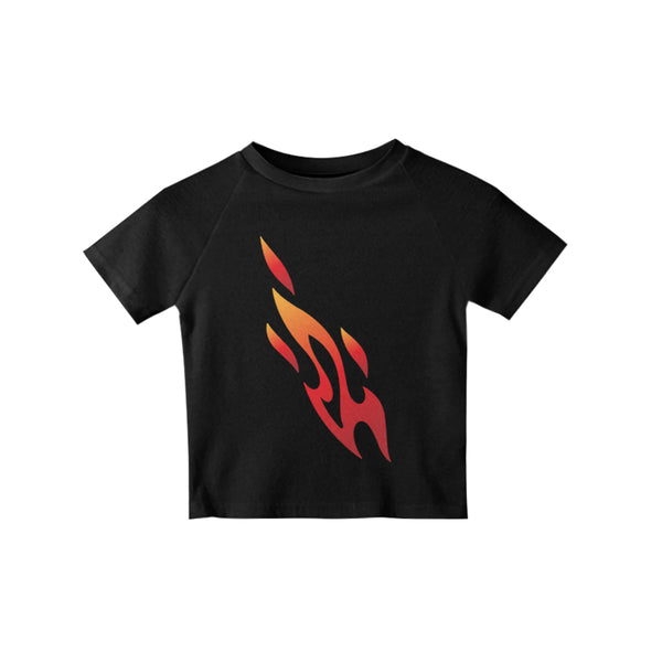 FLAME CROP TEE - MJN ORIGINALS
