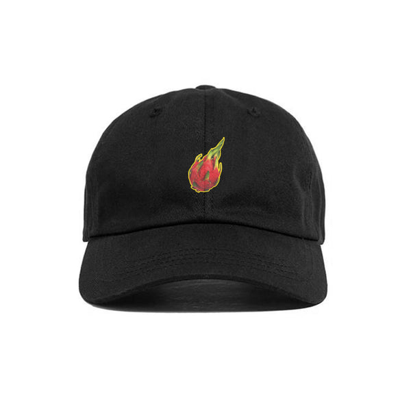 DRAGON FRUIT HAT BLACK - MJN ORIGINALS