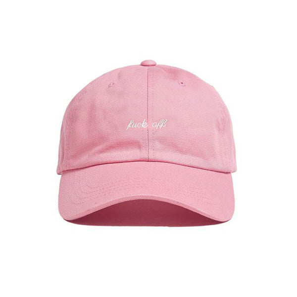 FUCK OFF HAT PINK - MJN ORIGINALS