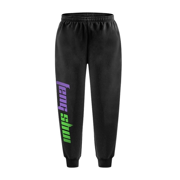 FENG SHUI SWEATPANTS BLACK - MJN ORIGINALS