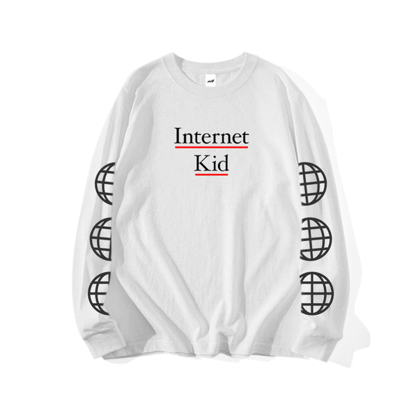 INTERNET KID LONG SLEEVE T-SHIRT - MJN ORIGINALS