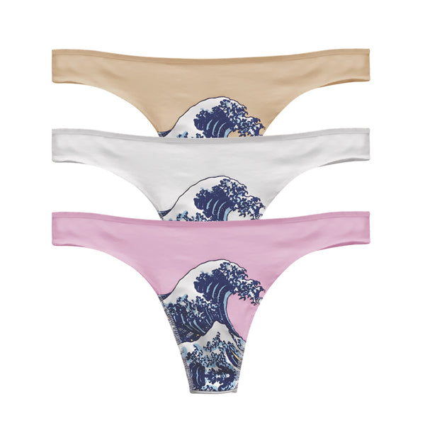 KANAGAWA WAVE THONG 3PIECE SET - MJN ORIGINALS